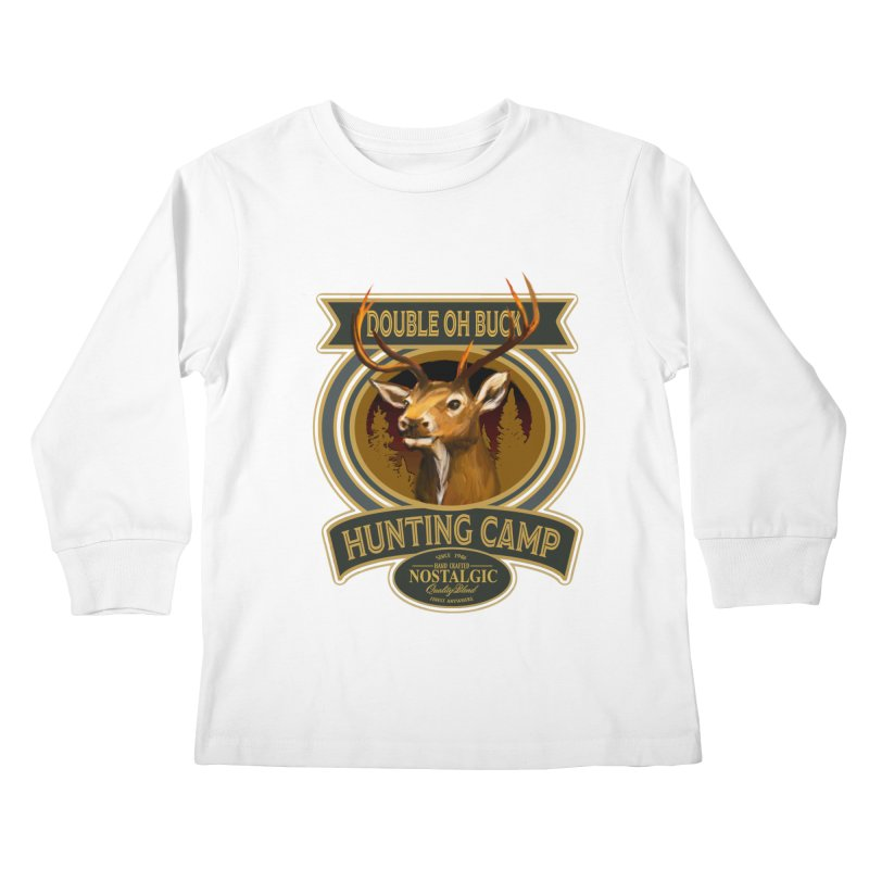 Double Oh Buck Kids Longsleeve T-Shirt by psweetsdesign's Artist Shop