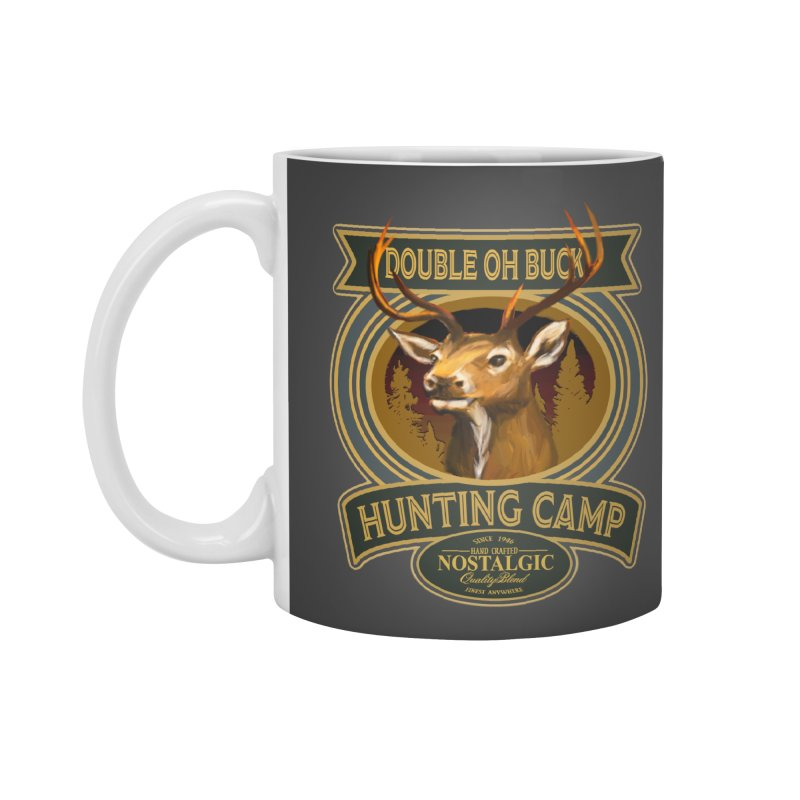 Double Oh Buck Accessories Standard Mug by psweetsdesign's Artist Shop