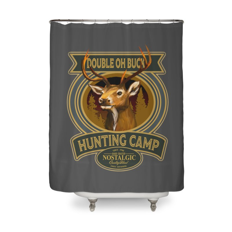 Double Oh Buck Home Shower Curtain by psweetsdesign's Artist Shop