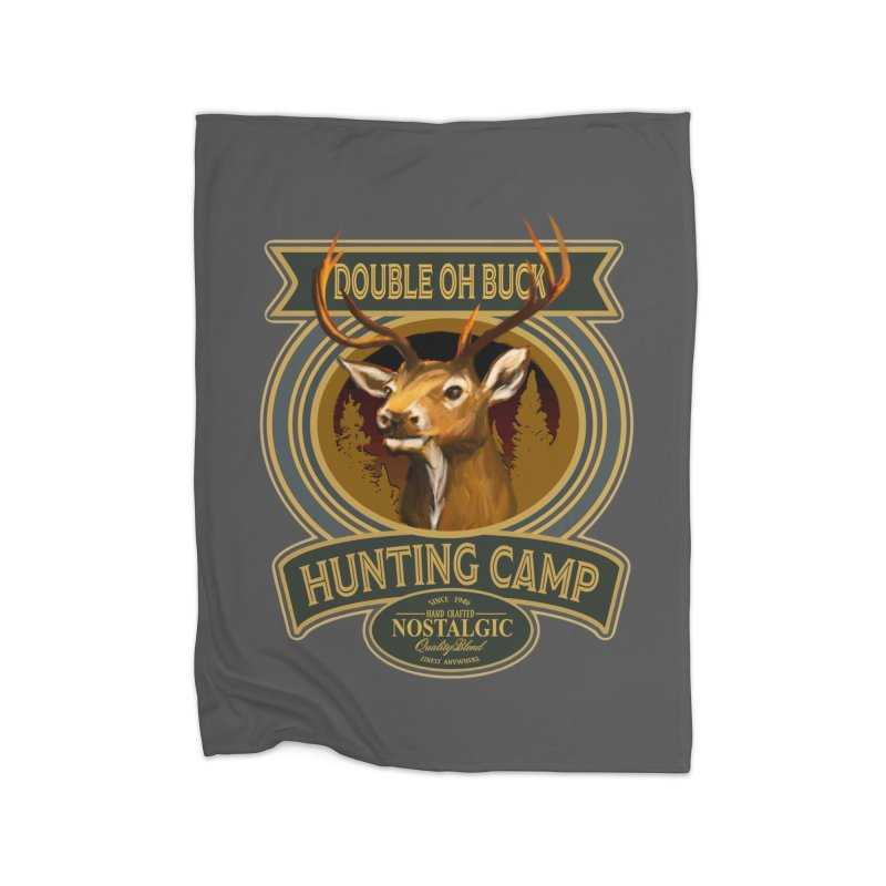Double Oh Buck Home Blanket by psweetsdesign's Artist Shop