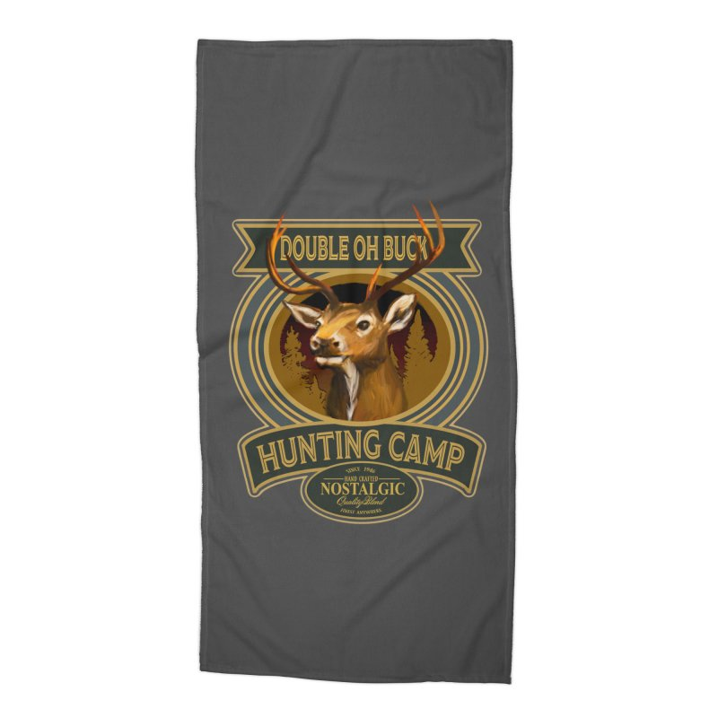 Double Oh Buck Accessories Beach Towel by psweetsdesign's Artist Shop