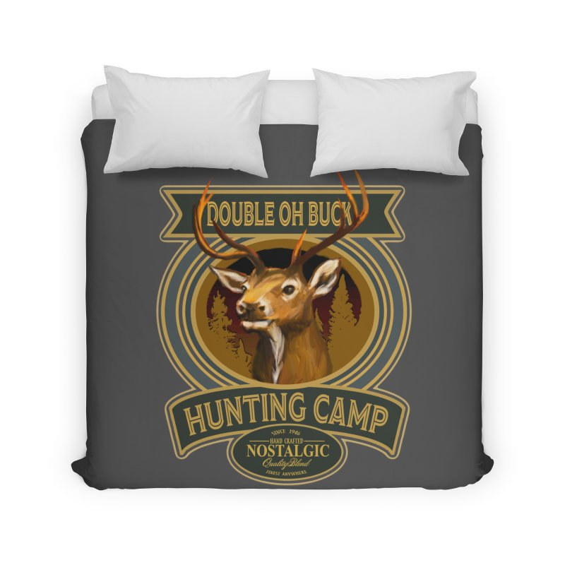 Double Oh Buck Home Duvet by psweetsdesign's Artist Shop