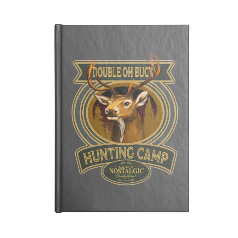 Double Oh Buck Accessories Notebook by psweetsdesign's Artist Shop