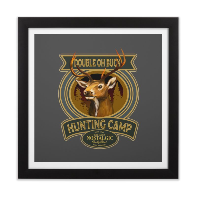 Double Oh Buck Home Framed Fine Art Print by psweetsdesign's Artist Shop