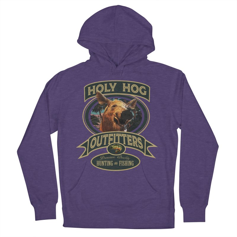Holy Hog Women's French Terry Pullover Hoody by psweetsdesign's Artist Shop