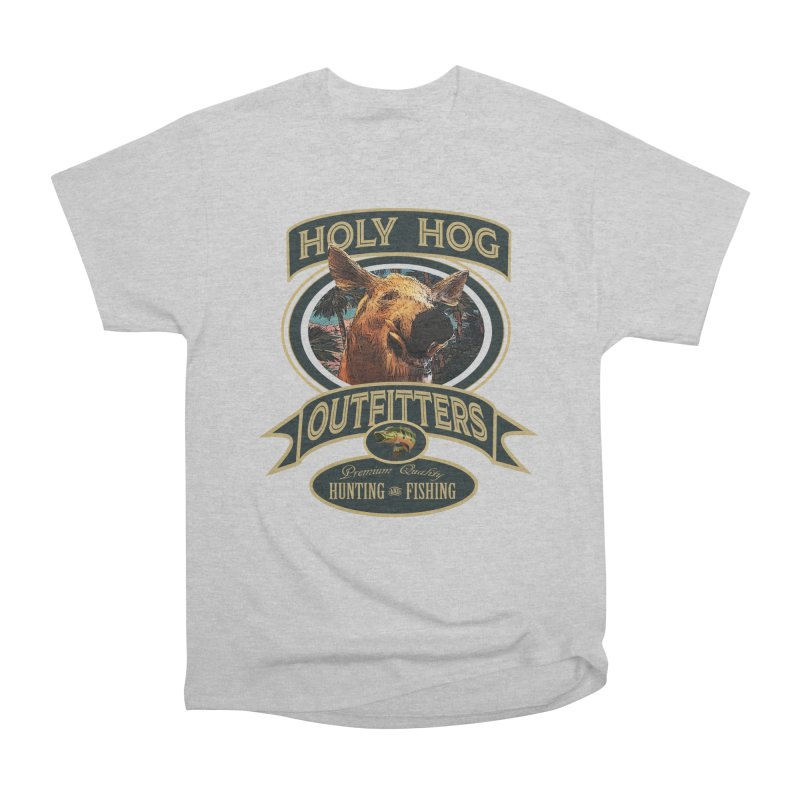 Holy Hog Men's Heavyweight T-Shirt by psweetsdesign's Artist Shop