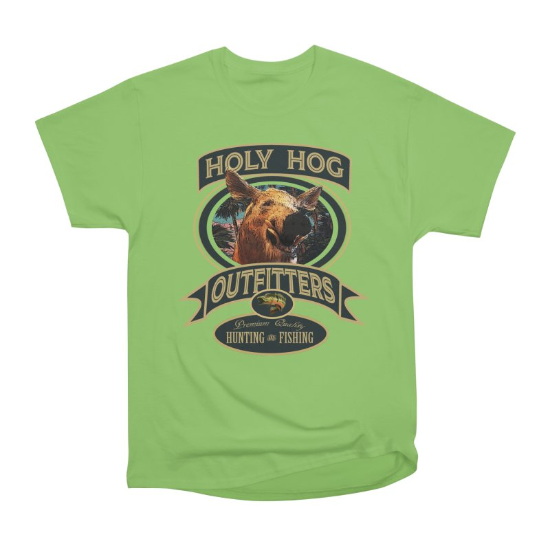 Holy Hog Women's Heavyweight Unisex T-Shirt by psweetsdesign's Artist Shop