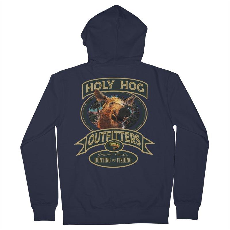 Holy Hog Women's Zip-Up Hoody by psweetsdesign's Artist Shop