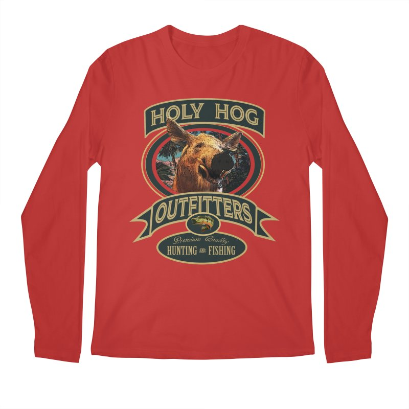 Holy Hog Men's Longsleeve T-Shirt by psweetsdesign's Artist Shop