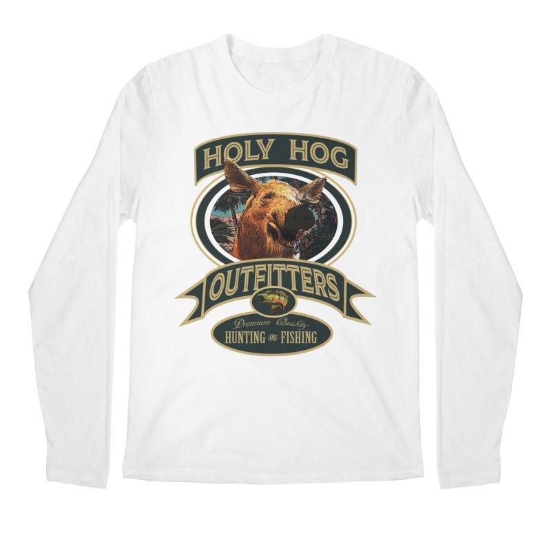 Holy Hog Men's Regular Longsleeve T-Shirt by psweetsdesign's Artist Shop