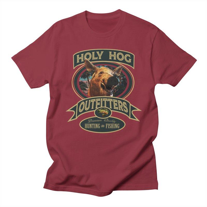 Holy Hog Women's Regular Unisex T-Shirt by psweetsdesign's Artist Shop