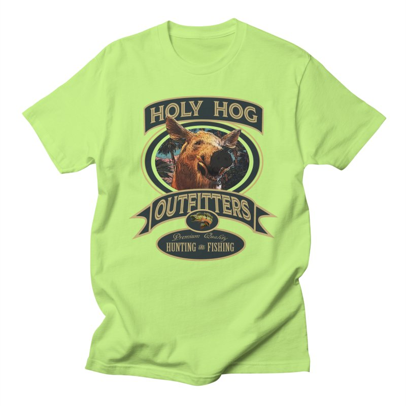 Holy Hog Men's Regular T-Shirt by psweetsdesign's Artist Shop