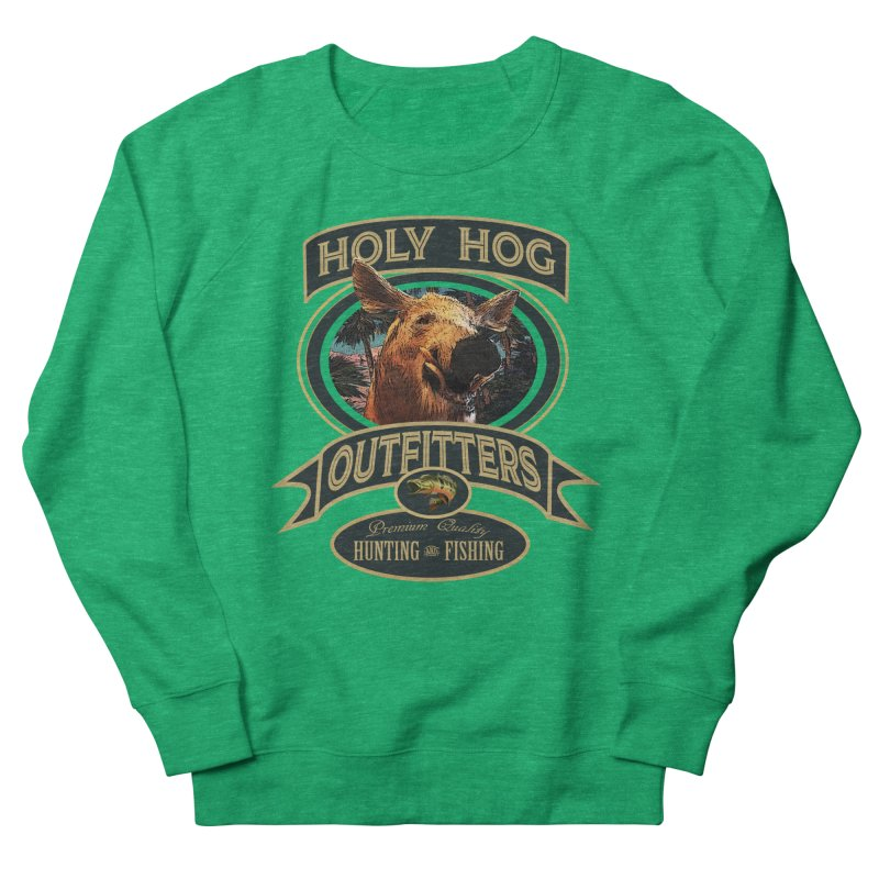 Holy Hog Women's French Terry Sweatshirt by psweetsdesign's Artist Shop