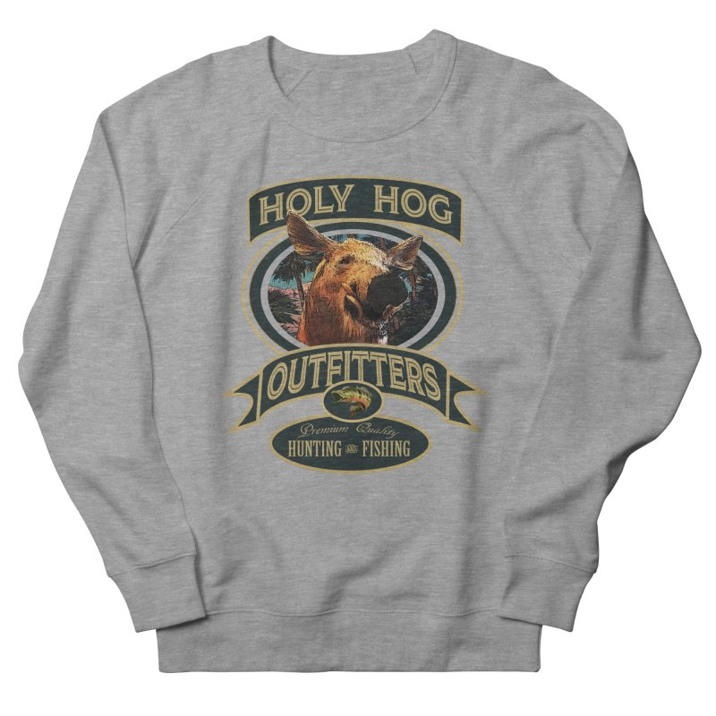Holy Hog Men's French Terry Sweatshirt by psweetsdesign's Artist Shop