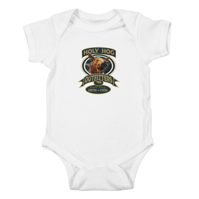 Holy Hog Kids Baby Bodysuit by psweetsdesign's Artist Shop