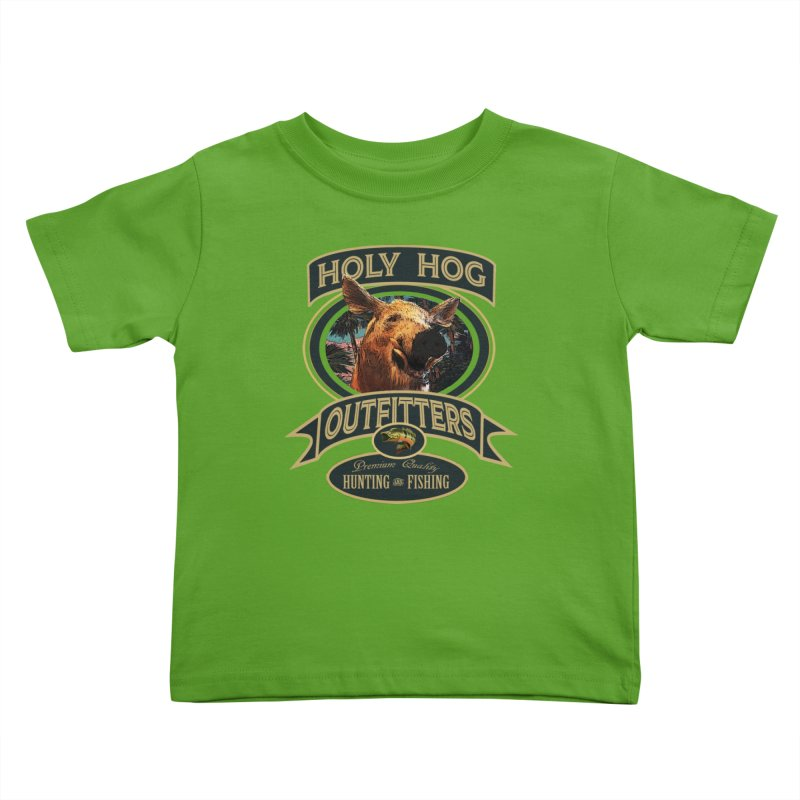 Holy Hog Kids Toddler T-Shirt by psweetsdesign's Artist Shop