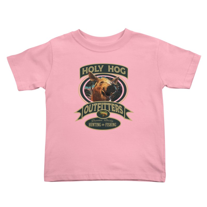 Holy Hog Kids Toddler T-Shirt by psweetsdesign's Artist Shop