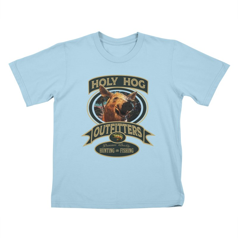 Holy Hog Kids T-Shirt by psweetsdesign's Artist Shop