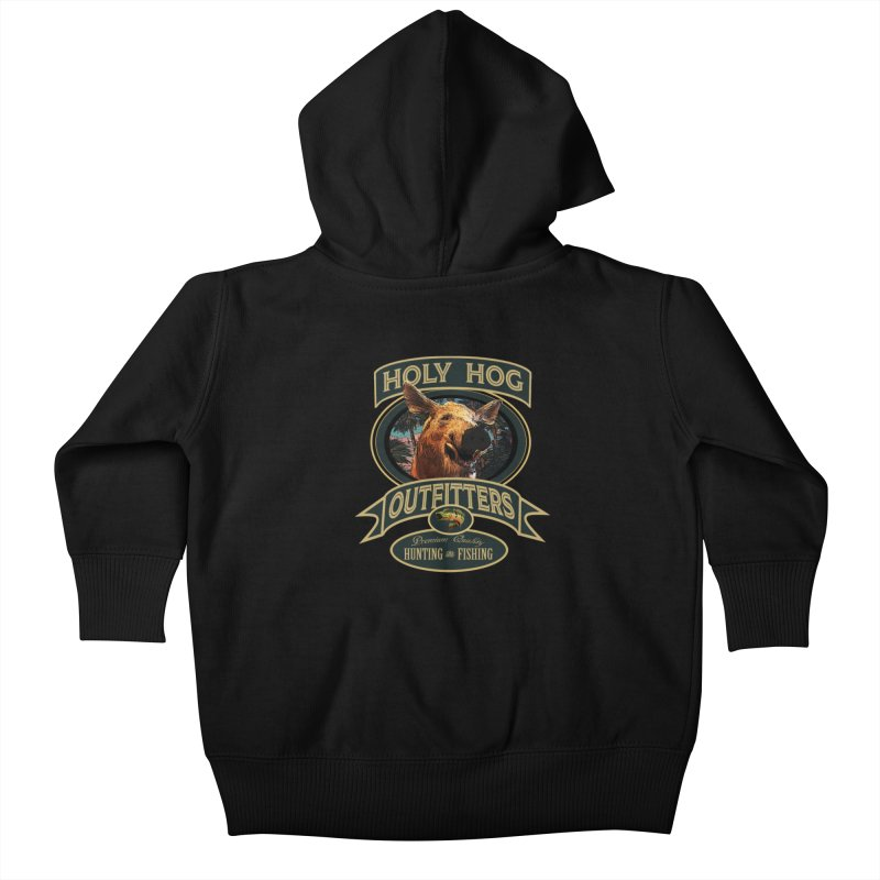 Holy Hog Kids Baby Zip-Up Hoody by psweetsdesign's Artist Shop
