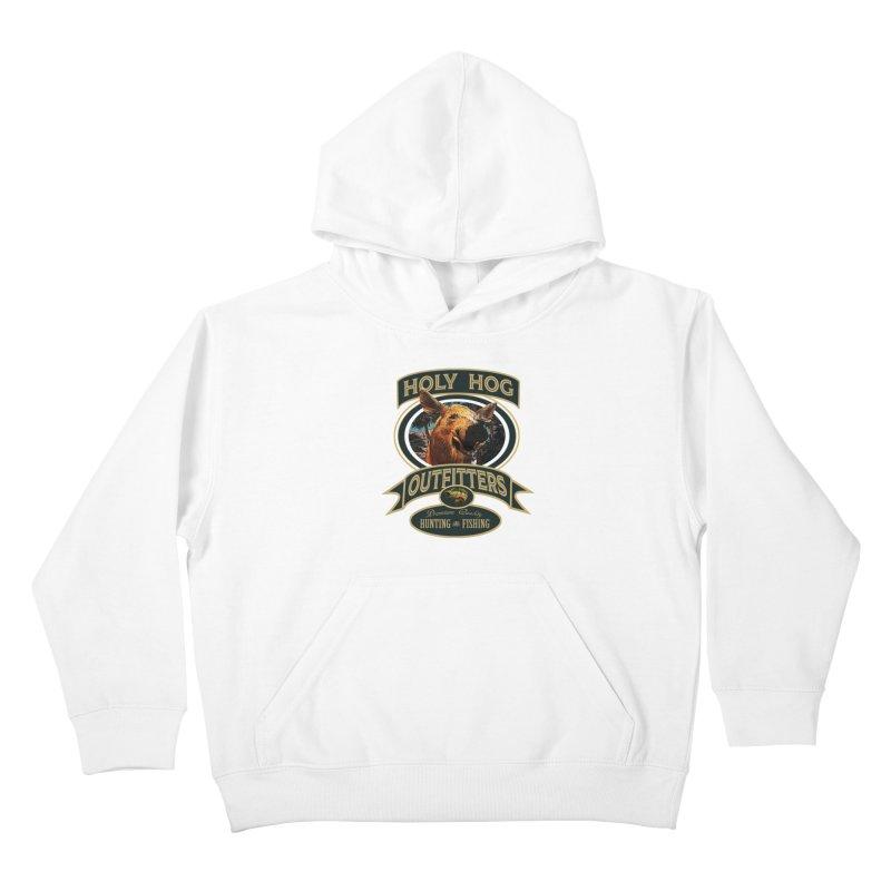 Holy Hog Kids Pullover Hoody by psweetsdesign's Artist Shop