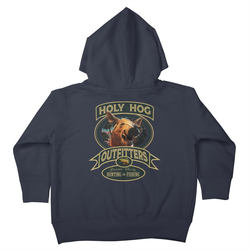 Holy Hog Kids Toddler Zip-Up Hoody by psweetsdesign's Artist Shop