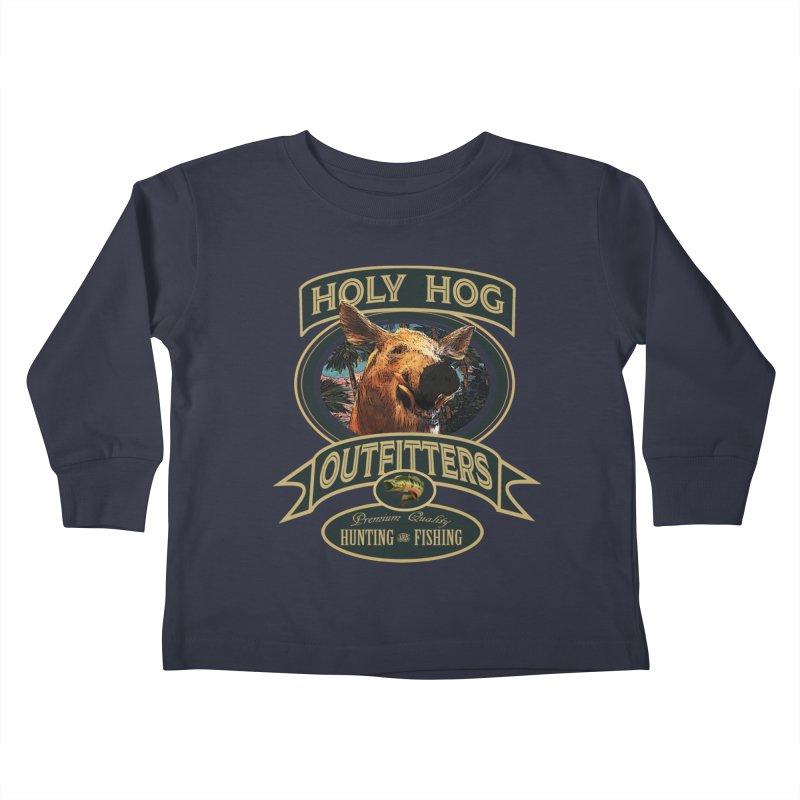 Holy Hog Kids Toddler Longsleeve T-Shirt by psweetsdesign's Artist Shop