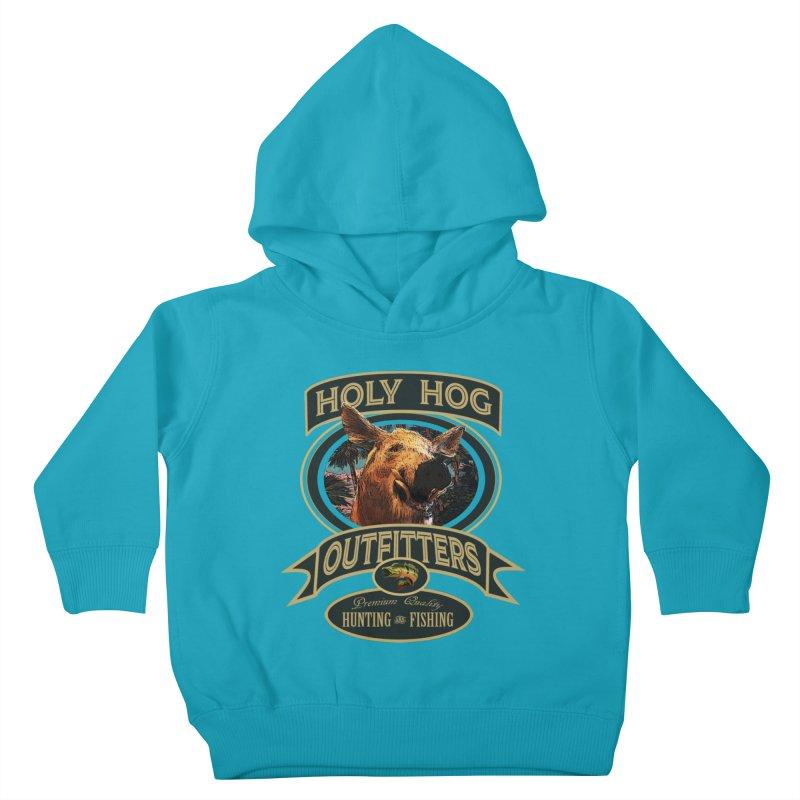 Holy Hog Kids Toddler Pullover Hoody by psweetsdesign's Artist Shop