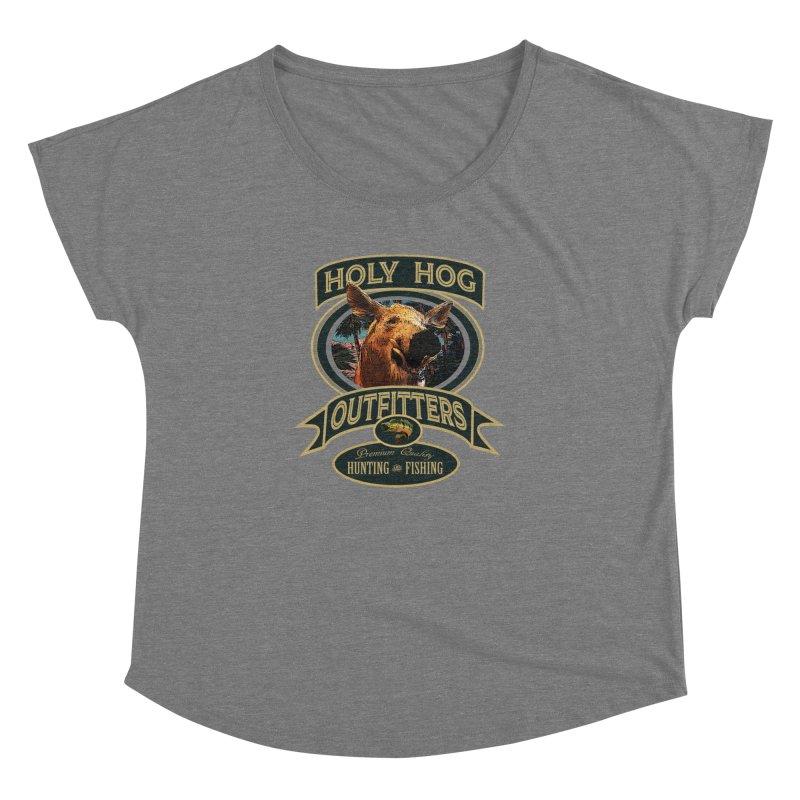 Holy Hog Women's Dolman Scoop Neck by psweetsdesign's Artist Shop