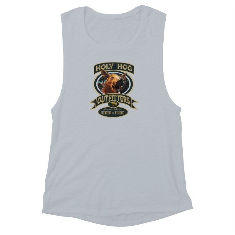 Holy Hog Women's Muscle Tank by psweetsdesign's Artist Shop