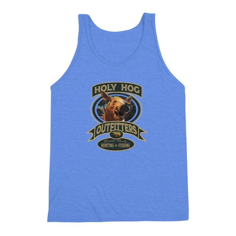 Holy Hog Men's Triblend Tank by psweetsdesign's Artist Shop