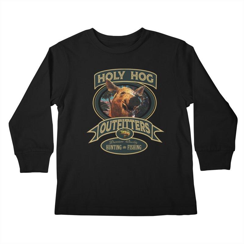 Holy Hog Kids Longsleeve T-Shirt by psweetsdesign's Artist Shop