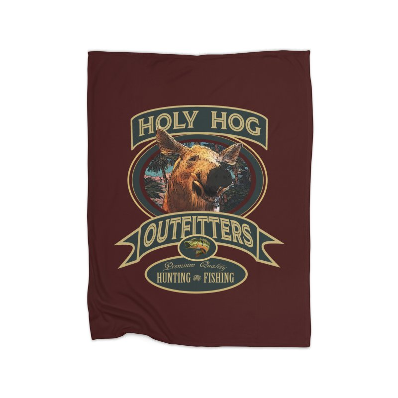 Holy Hog Home Blanket by psweetsdesign's Artist Shop