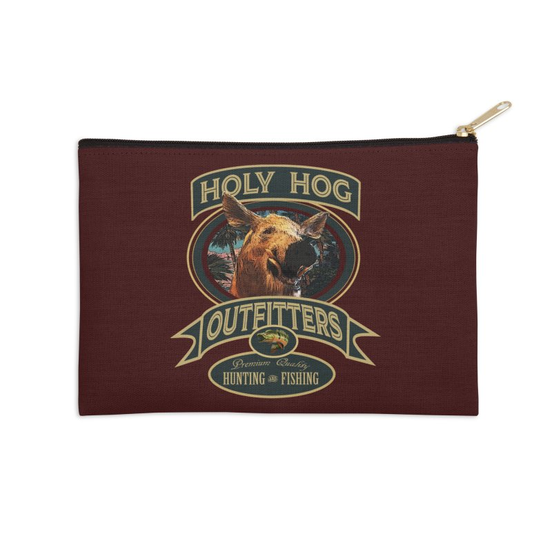 Holy Hog Accessories Zip Pouch by psweetsdesign's Artist Shop