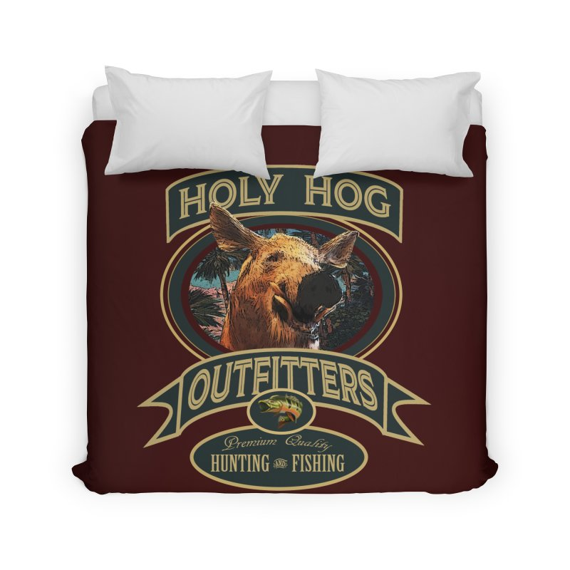 Holy Hog Home Duvet by psweetsdesign's Artist Shop
