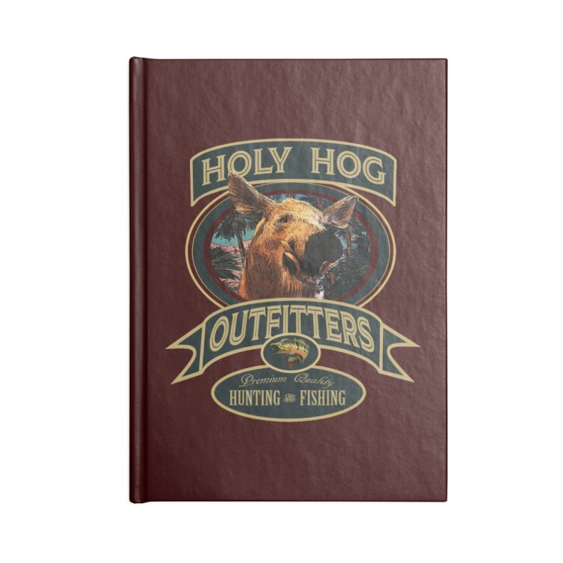 Holy Hog Accessories Notebook by psweetsdesign's Artist Shop