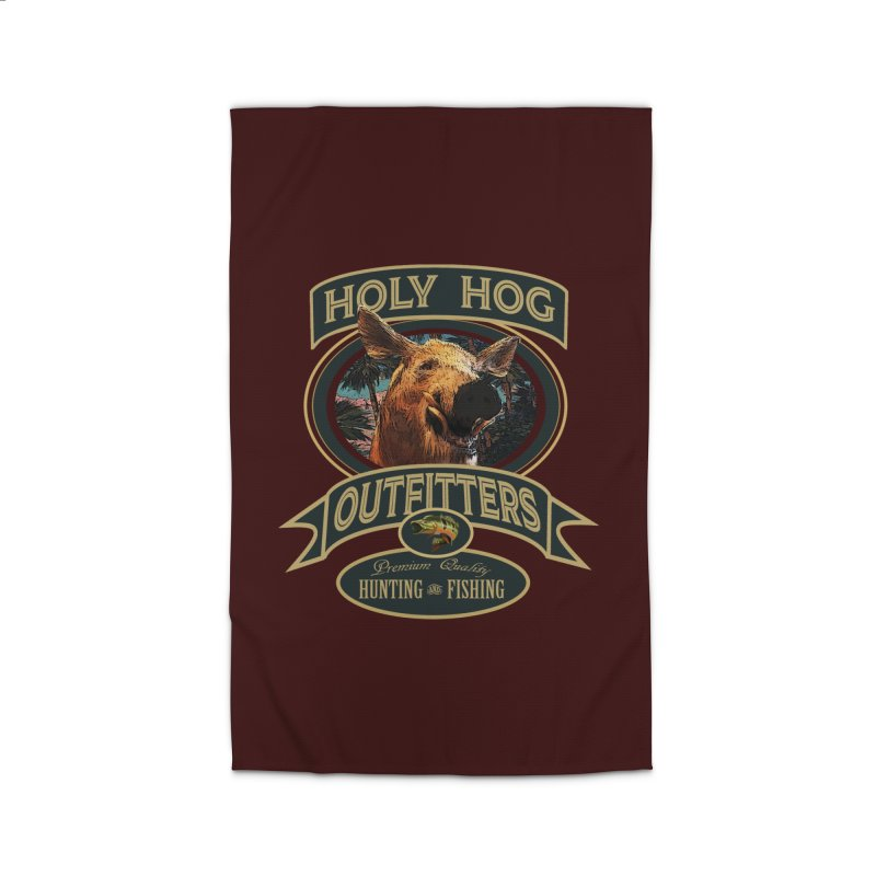 Holy Hog Home Rug by psweetsdesign's Artist Shop