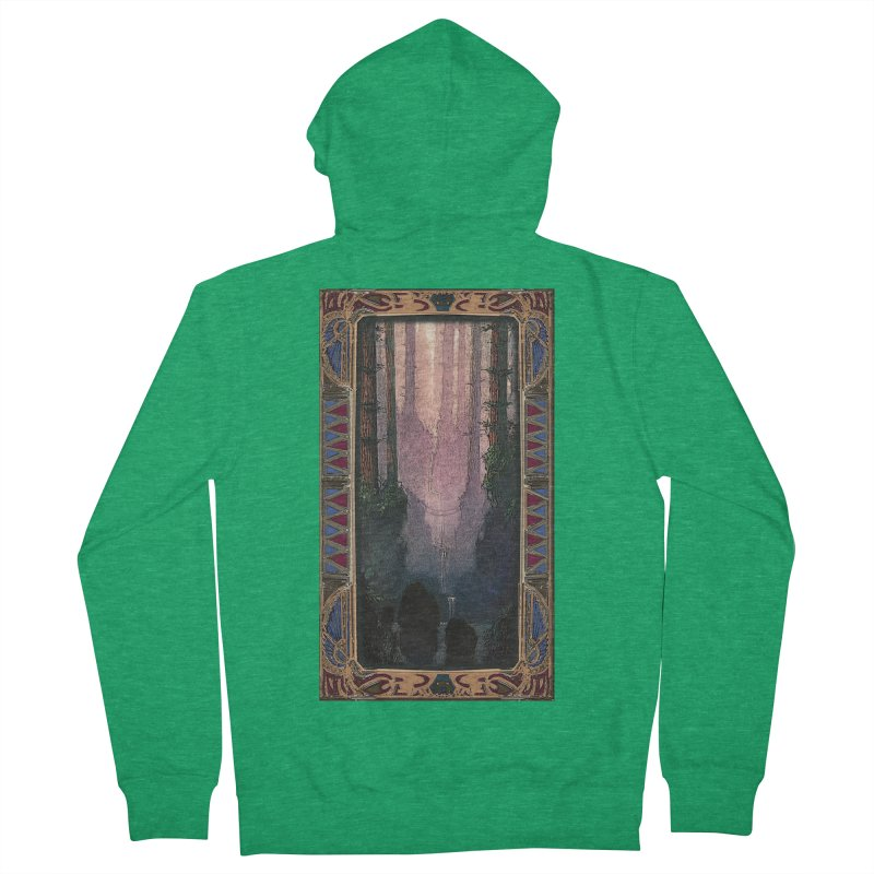 Sleep In TheThe Forest Men's French Terry Zip-Up Hoody by psweetsdesign's Artist Shop