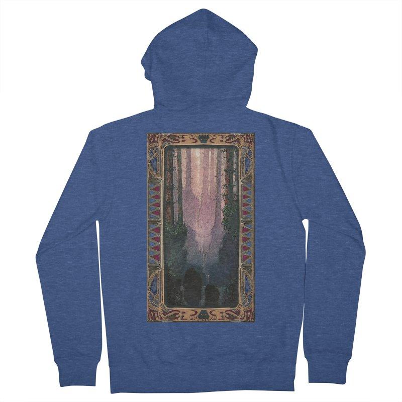 Sleep In TheThe Forest Men's Zip-Up Hoody by psweetsdesign's Artist Shop