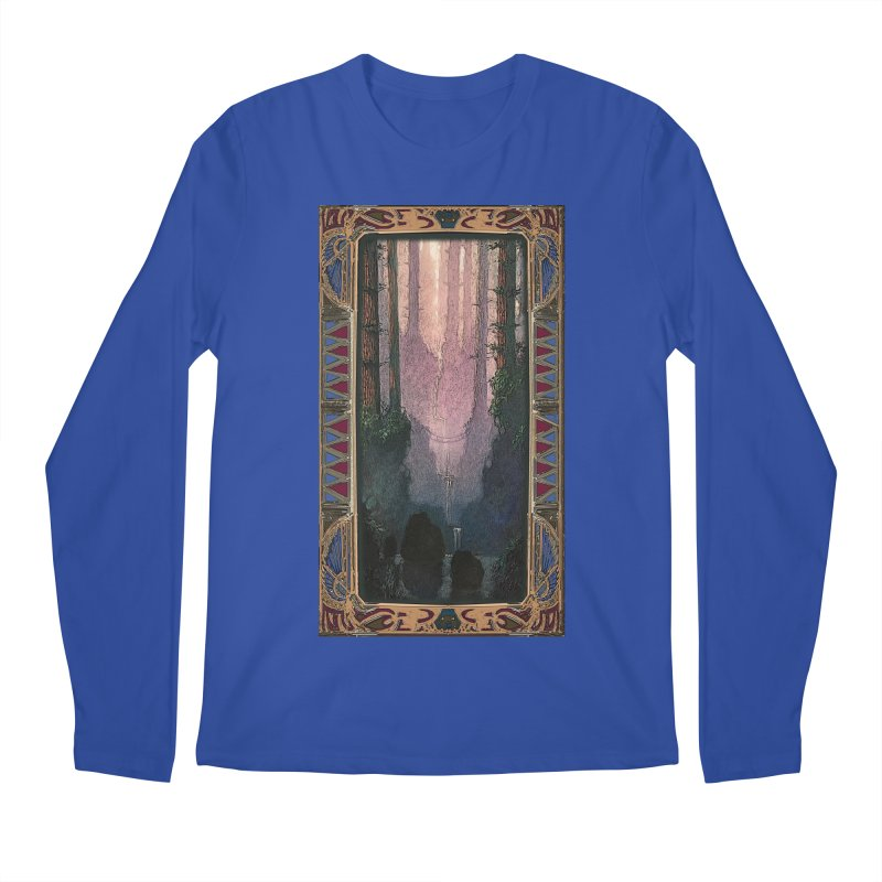 Sleep In TheThe Forest Men's Longsleeve T-Shirt by psweetsdesign's Artist Shop