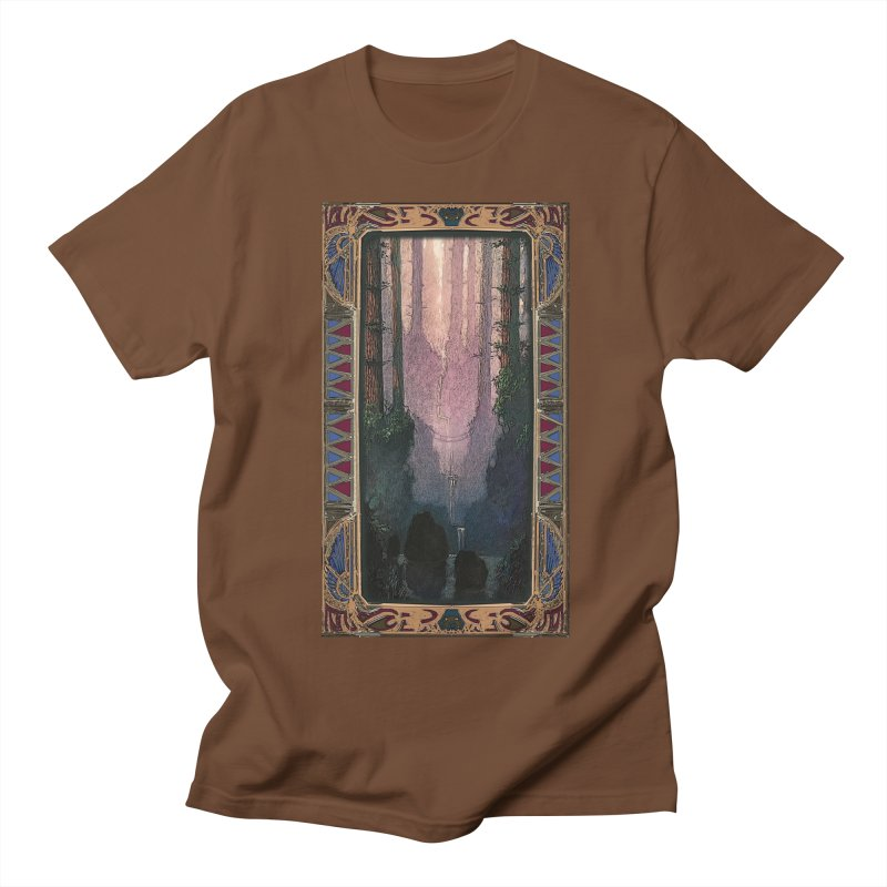 Sleep In TheThe Forest Men's T-Shirt by psweetsdesign's Artist Shop