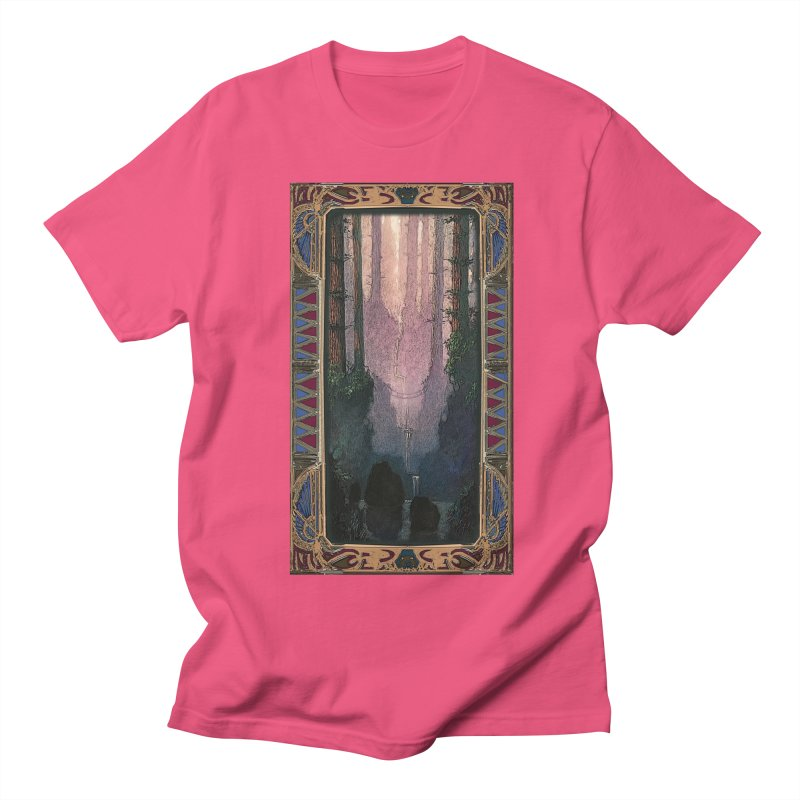 Sleep In TheThe Forest Women's Regular Unisex T-Shirt by psweetsdesign's Artist Shop