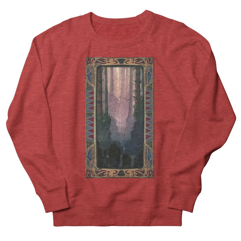 Sleep In TheThe Forest Women's French Terry Sweatshirt by psweetsdesign's Artist Shop
