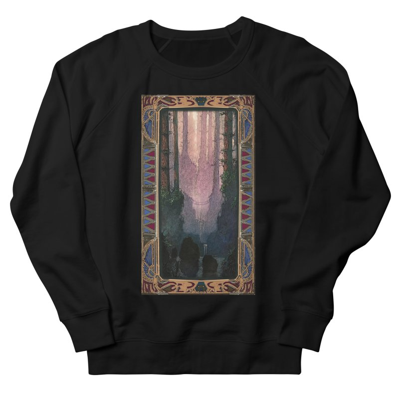 Sleep In TheThe Forest Men's French Terry Sweatshirt by psweetsdesign's Artist Shop