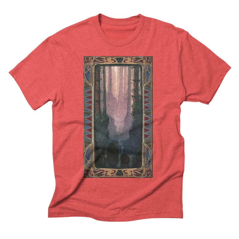 Sleep In TheThe Forest Men's Triblend T-Shirt by psweetsdesign's Artist Shop