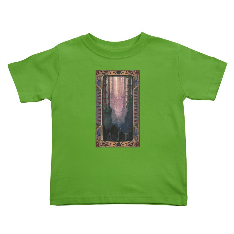 Sleep In TheThe Forest Kids Toddler T-Shirt by psweetsdesign's Artist Shop