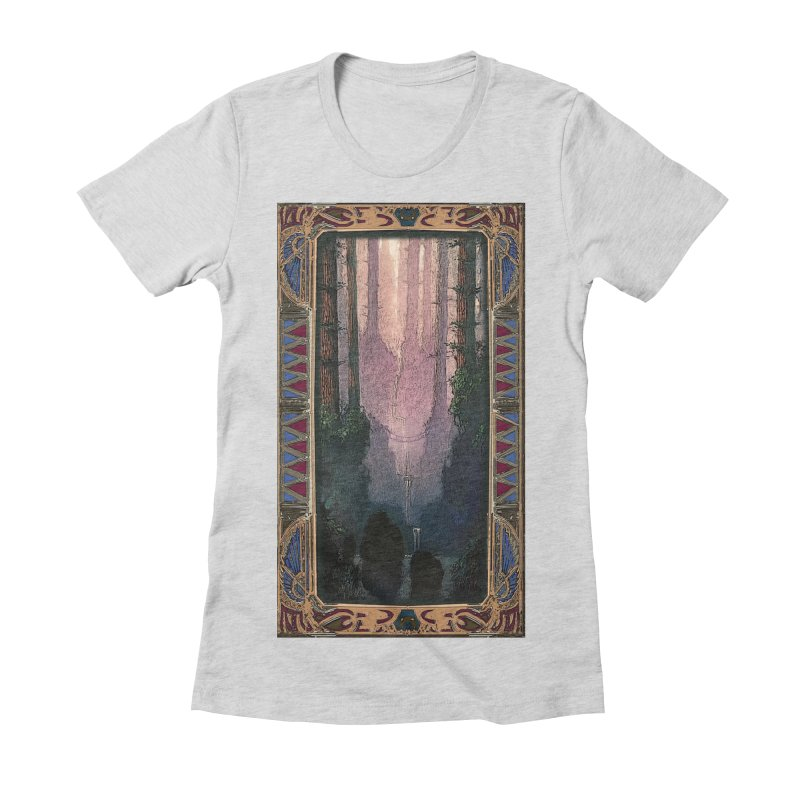 Sleep In TheThe Forest Women's Fitted T-Shirt by psweetsdesign's Artist Shop