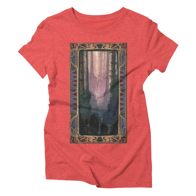 Sleep In TheThe Forest Women's Triblend T-shirt by psweetsdesign's Artist Shop