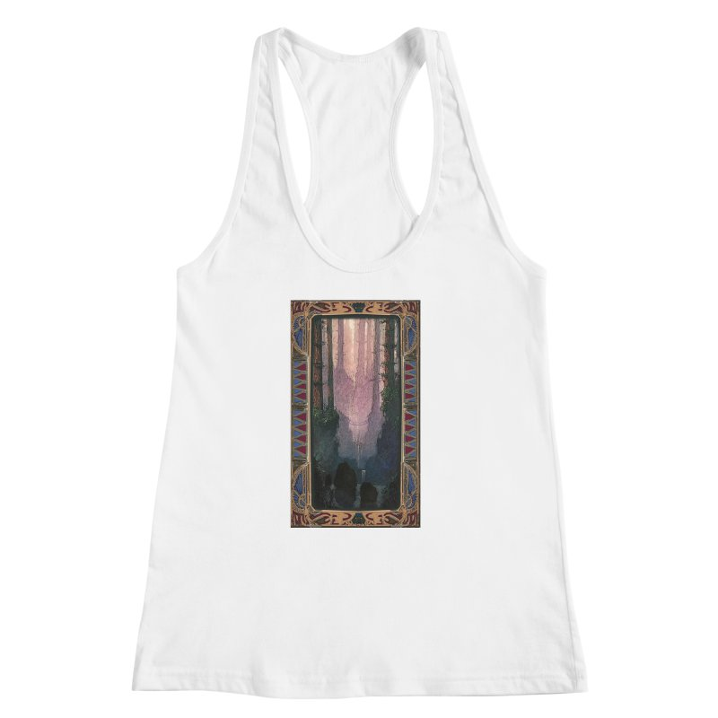 Sleep In TheThe Forest Women's Racerback Tank by psweetsdesign's Artist Shop