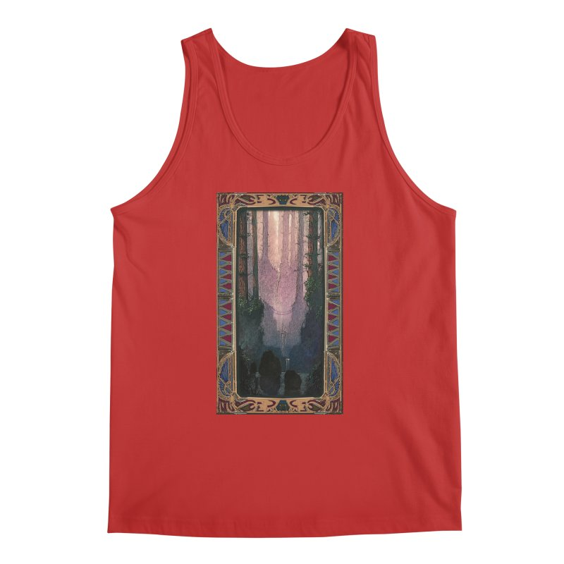 Sleep In TheThe Forest Men's Regular Tank by psweetsdesign's Artist Shop