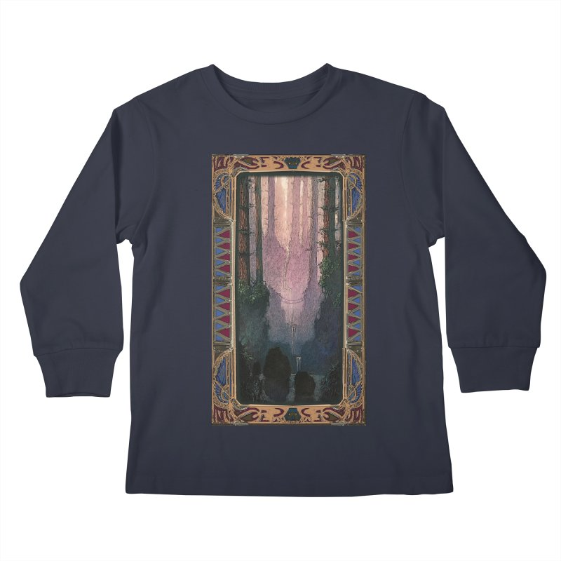 Sleep In TheThe Forest Kids Longsleeve T-Shirt by psweetsdesign's Artist Shop